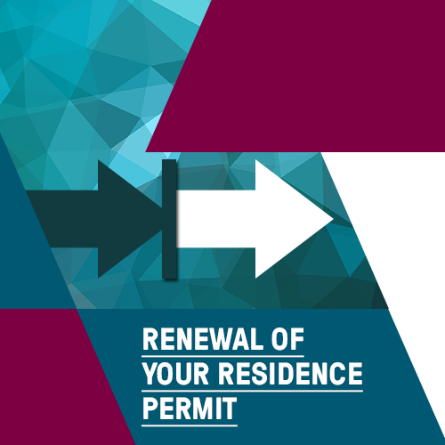 Renewal of your residence permit