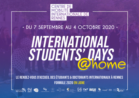couverture ISD at home 2020 CMI rennes