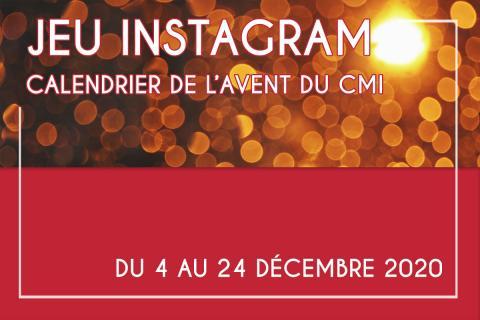 jeu concours instagram décembre 2020