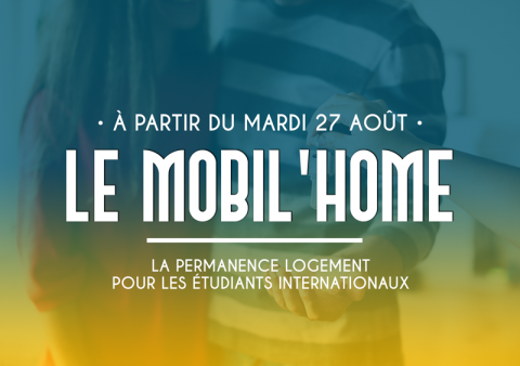 Le mobil'home - service de logemet por les étudiants internationaux