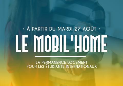 Le mobil'home - service de logemet por les étudiants internationaux