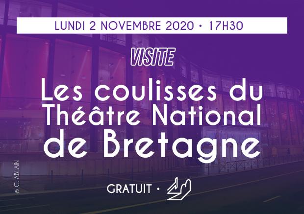 VISITE : Dans les coulisses du TNB avec le CMI Rennes